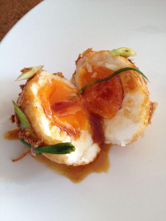 Thai Food. Kai Loog Keuy. Son-in-law Eggs.