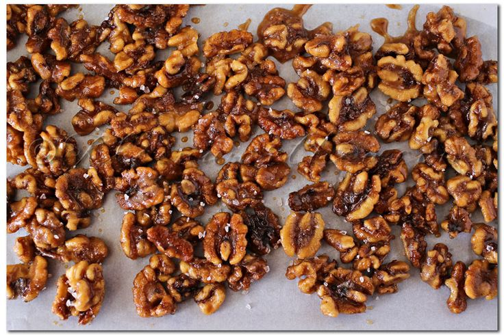 Pumpkin Spice Candied Walnuts | Recipe