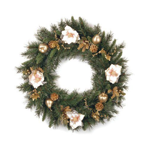 Christmas Wreath by NATIONAL TREE COMPANY. $72.40. Prefect additon ...