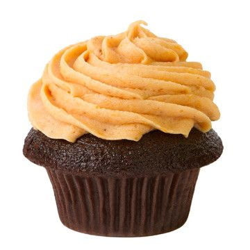 ... Cocoa Cupcake or Golden Buttermilk Cupcake with Real Pumpkin Icing