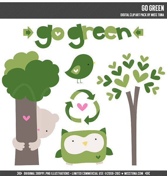 go green clip art pictures - photo #2