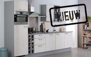Bruynzeel Atlas keuken in steigerwit  ONZE KEUKENS  Pinterest