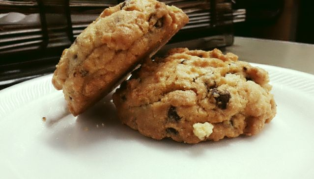 Chewy, and thick Oatmeal Raisin Cookies | DANGER!!!! | Pinterest