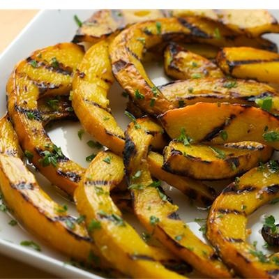 Sweet and Sour Grilled Pumpkin.... something to do with your pumpkins ...