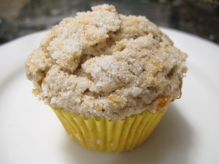 lemon poppy seed muffins - gluten free and dairy free, their tangy ...