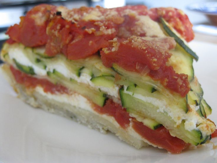 Lasagna Tart | Lasagna | Pinterest
