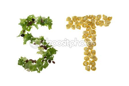 Alphabet - Letters S and T | Food | Pinterest