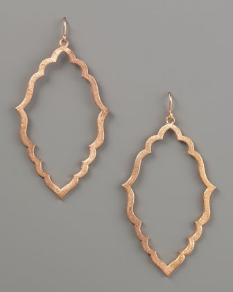Dogeared earrings