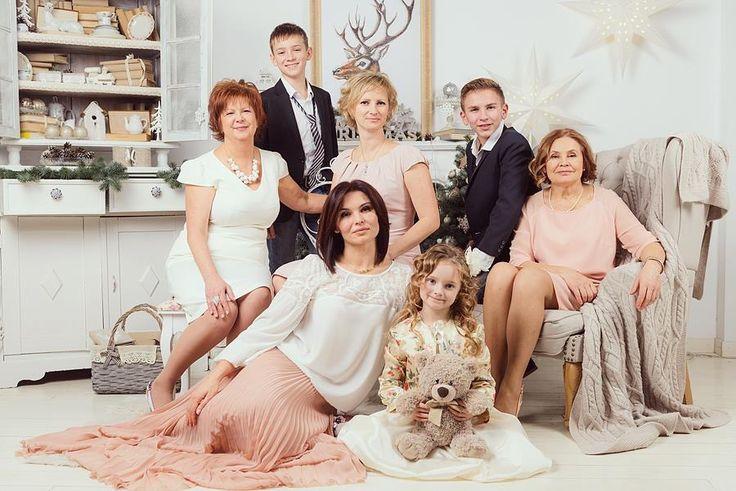 Идеи семейныхсессий в студии