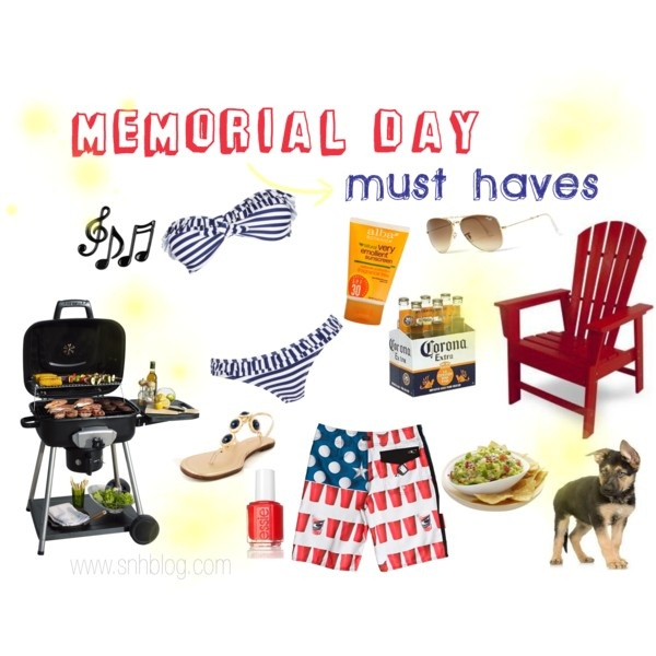 memorial day bbq must haves