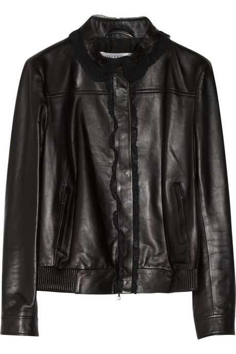 valentino leather jacket look alike