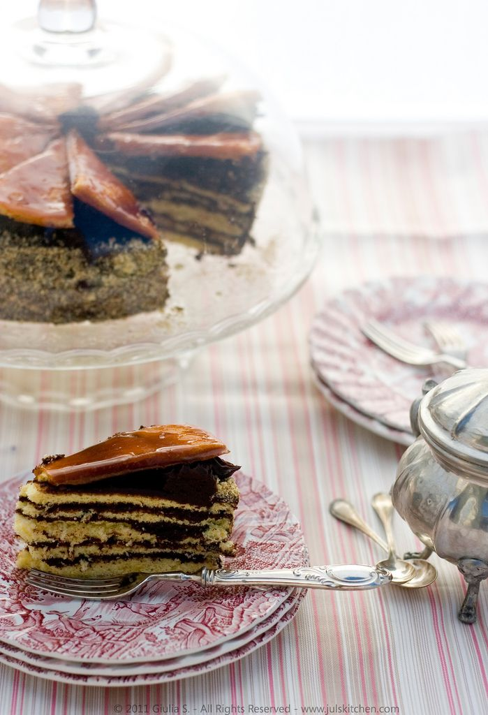 Dobos Torte, the 127-year-old Hungarian dessert | Juls' Kitchen