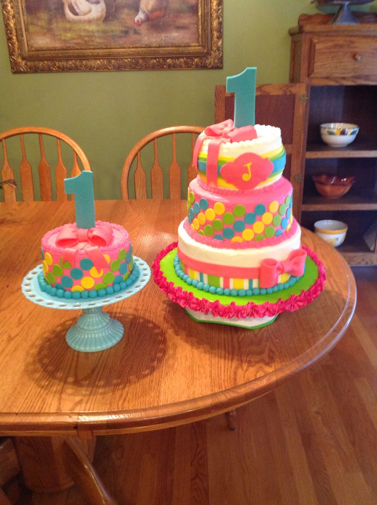 Birthday Cake Images For A Niece : Birthday Cake for my niece 1st birthday. Cakes Pinterest