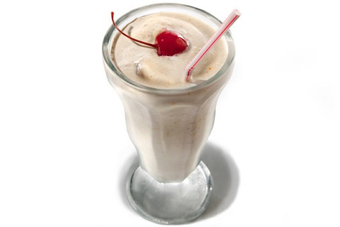 Bourbon Old Fashioned Milk Shake. Not overly sweet so it still tastes ...