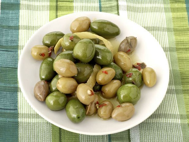 Citrus Marinated Olives Make Alton's Citrus-Marinated Olives a day or ...