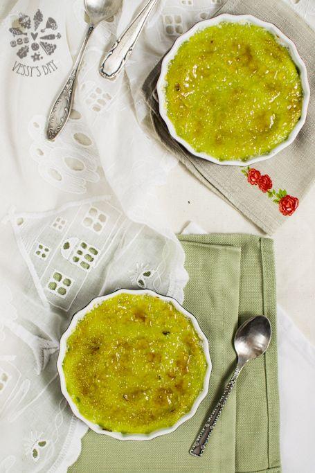 Avocado Creme Brûlée | Dessert@mOOuse | Pinterest