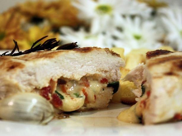 Grilled Stuffed Chicken Breast (Petti Di Pollo Ripieni). Photo by ...