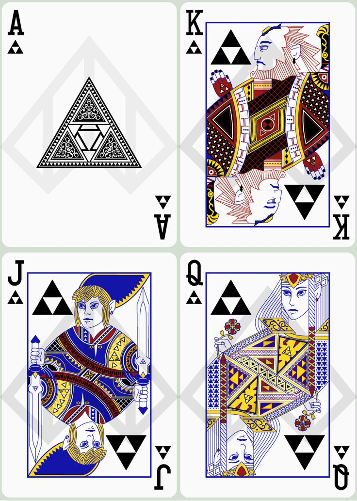 queen king ace two three in poker