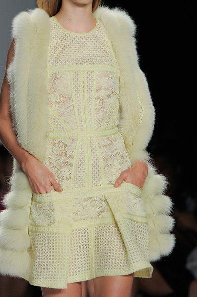 J. Mendel at New York Fashion Week Spring 2014