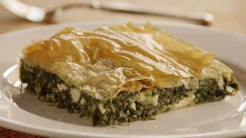 ... feta & ricotta cheese. Spanakopita (Greek Spinach Pie) Allrecipes.com
