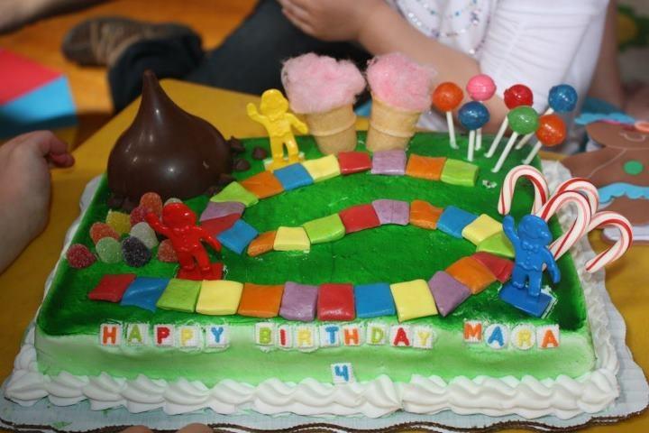 candyland cake!