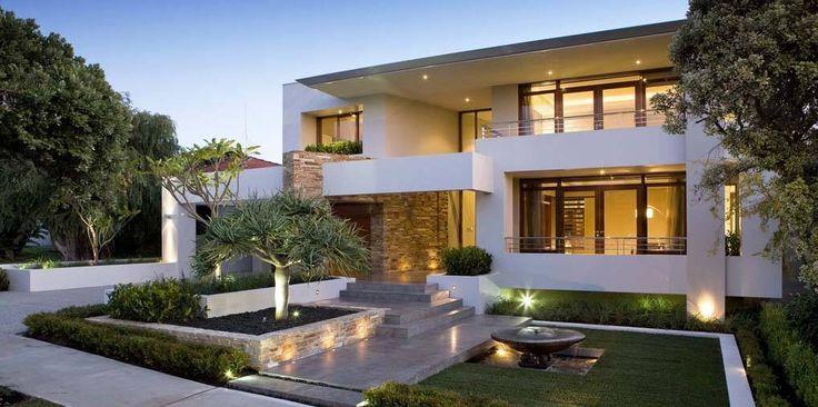 Modern house design modern houses design pinterest for Modern villa design home design