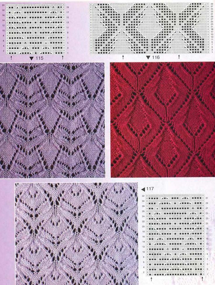 Фото и описание вязания на спицах