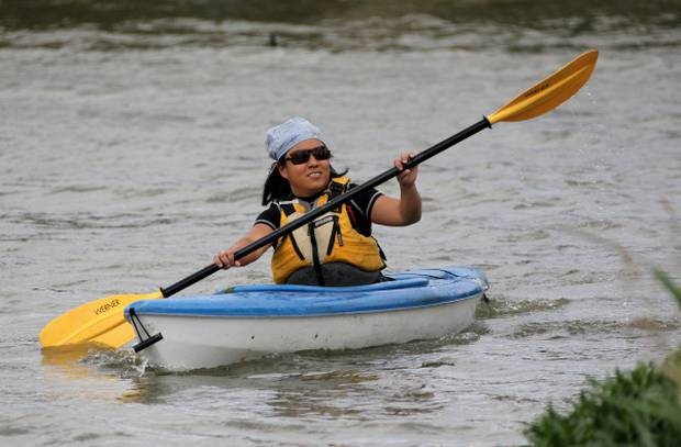 Connect with nature, work out core with kayaking at White Rock Lake