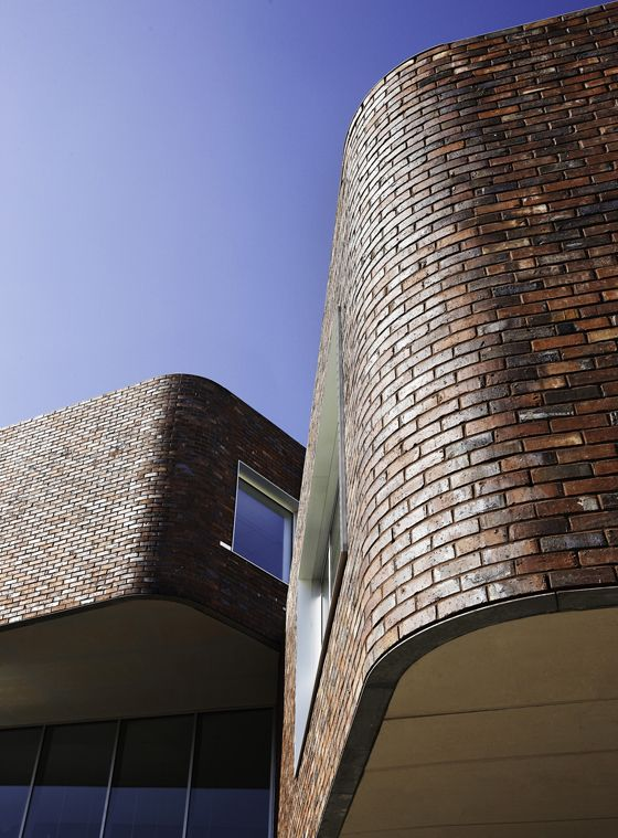 architectural house design brick