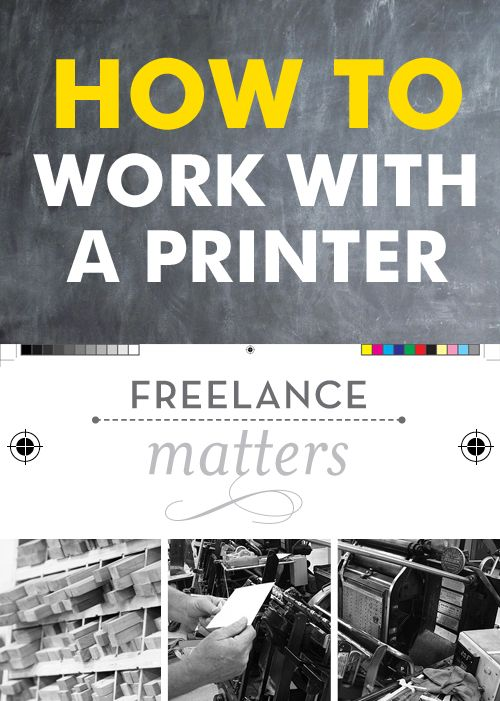 how to work with a printer / jeremy&kathleen