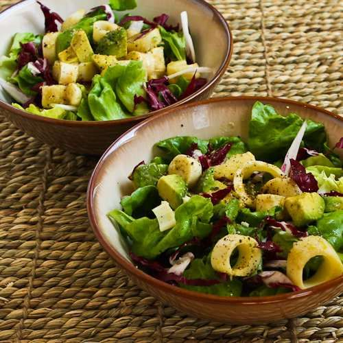 Recipe for Rich Salad with Hearts of Palm, Avocado, and Radicchio from ...
