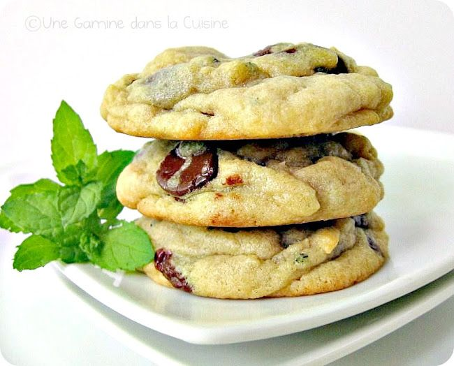 Mint Chocolate Chip Cookies | Finding the best chocolate chip c