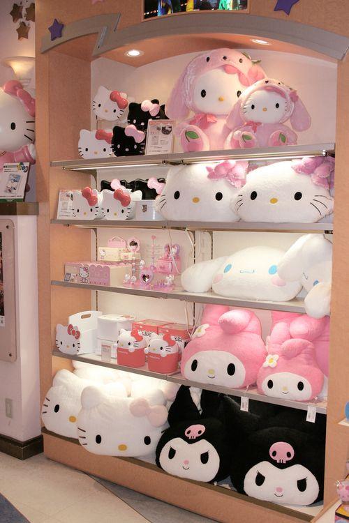 sanrio store hello kitty sanrio pinterest. Black Bedroom Furniture Sets. Home Design Ideas