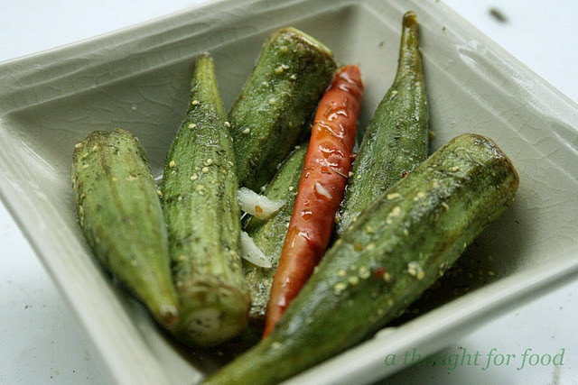 pickled okra | Food Food and More Food | Pinterest