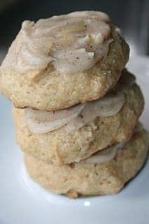 Soft Brown Sugar Cookies. They melt in your mouth.