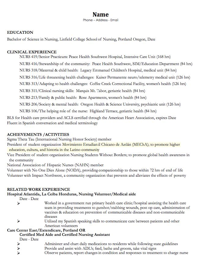Resume sample for nursing assistant thecheapjerseys Images