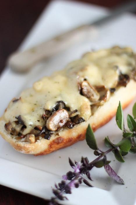 Mushroom Bruschetta | Food For Thought | Pinterest