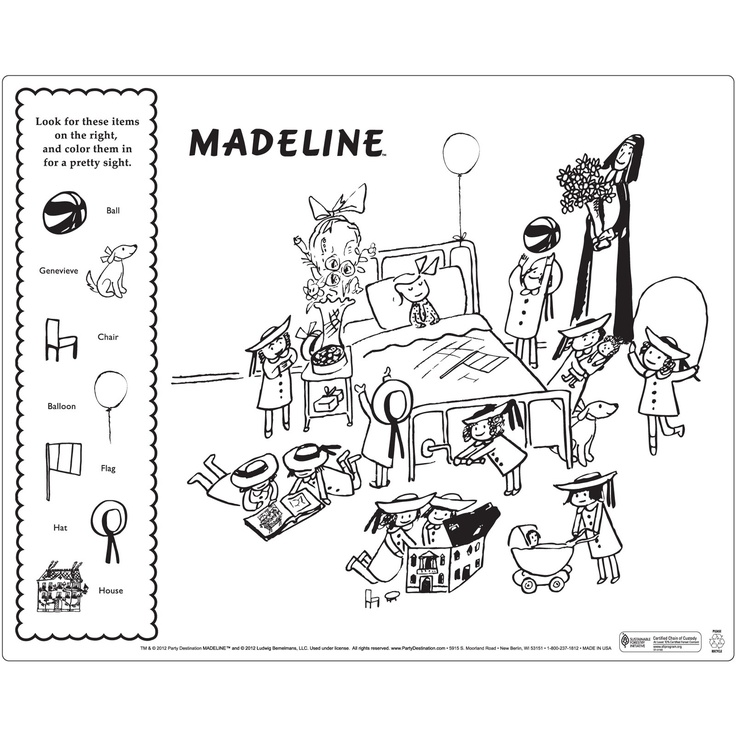 Madeline Activity Placemats