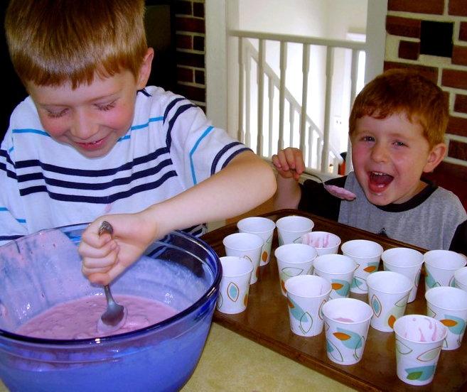 ... Values: Summer Favorites: Cherry Cheesecake Frozen Yogurt Pops