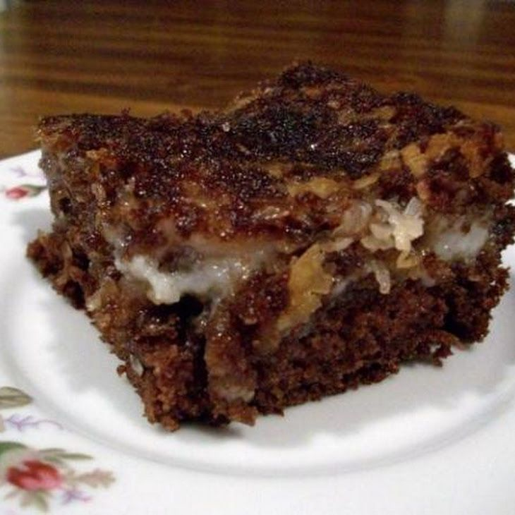 german chocolate click for details german chocolate upside down cake ...