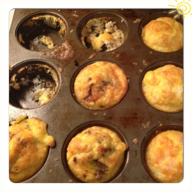 Egg And Cheese Breakfast Muffins With Mushrooms And Thyme Recipes ...