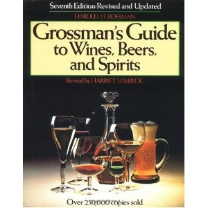 Grossman's Guide to Wines, Beers, and Spirits (Hardcover)  http://budconvention.com/zone1.php?p=0684177722  #Alcohol #liquor #beer