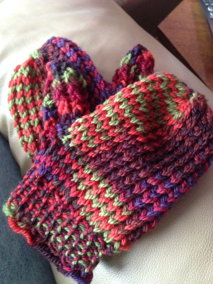 Knitting Mittens On A Loom : Loom knitted mittens knitting pinterest
