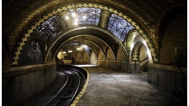 New York's Secret City Hall Subway Stop