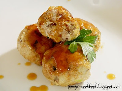 Teriyaki Chicken Meatballs ... I think Mrs. Mitsumoto from across the ...