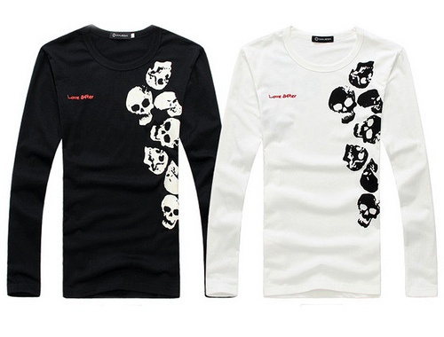 Skull Head Long Sleeve T-Shirt