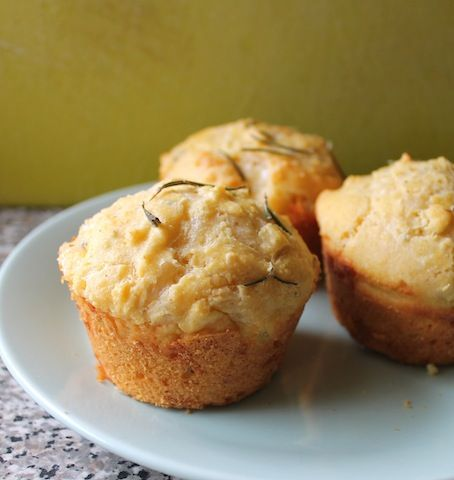 ... Lust People Love: Rosemary Cheddar Cornbread Muffins for #MuffinMonday