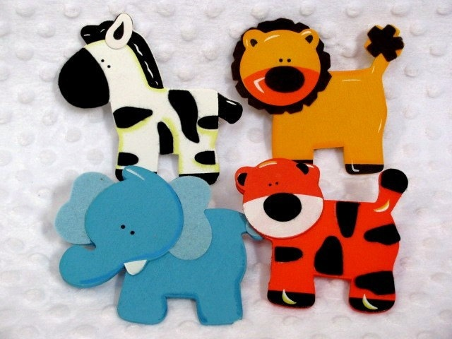 Decorative Outlet Socket Covers Jungle Zoo Animals Baby and Kids Room…