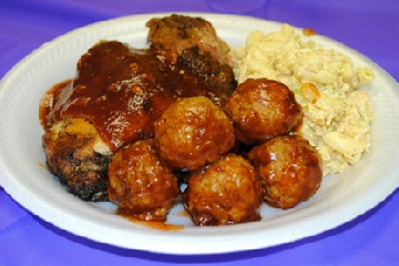 BBQ Chicken Meatballs | Food: Shrimp/Fish | Pinterest