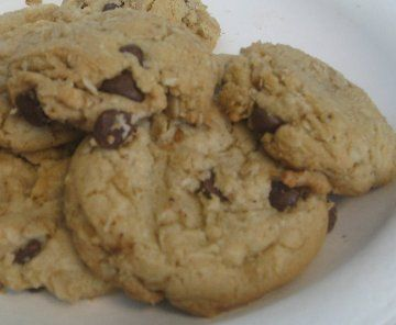 Cowboy Cookies: chocolate chip | Delicious not nutritious | Pinterest